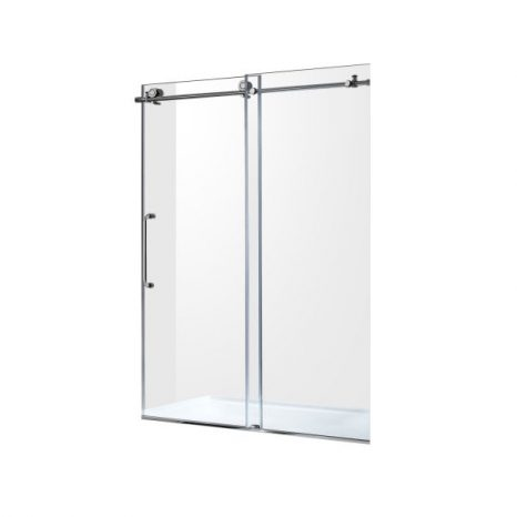 Echo 63.5 in. 4-Jetted Shower Panel with Heavy Rain Shower and Spray Wand in Brushed Steel