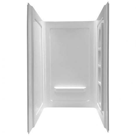Plateau Series 60 in. x 36 in. Shower Base in White