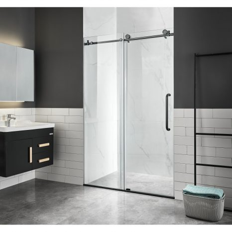 Jaguar 60 in. 6-Jetted Full Body Shower Panel with Heavy Rain Shower and Spray Wand in White