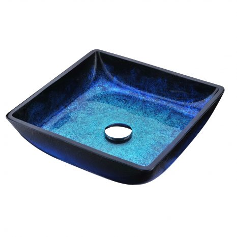 Craft Series Deco-Glass Vessel Sink in Lustrous Frosted
