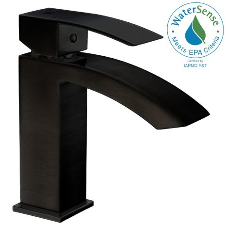 ANZZI 48-88 Inches Shower Curtain Rod with Shower Hooks in Matt Black | Adjustable Tension Shower Doorway Curtain Rod | Rust Resistant No Drilling Anti-Slip Bar for Bathroom | AC-AZSR88MB